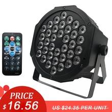 Đèn LED Mệnh Đèn 36X3W DJ LED RGBW Mệnh Đèn RGB Rửa Disco Đèn DMX Bộ Điều Khiển Tác Dụng Cho nhỏ Bữa Tiệc KTV Ánh Sáng Sân Khấu