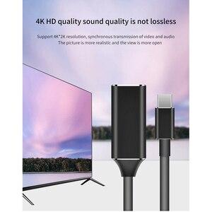 Image 5 - كابل تحويل HDMI Type C عالي الدقة، وصلة USB مع بطاقة فيديو وشاشات متعددة, وصلة USB C خارجية لأجهزة سامسونج وشاومي وهواوي