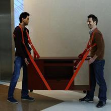 Новые 3 м подъема и перемещения ремни для удобной переноски тяжелые мебели Приспособления матрасы 2 человек перемещение Системы прочный мА