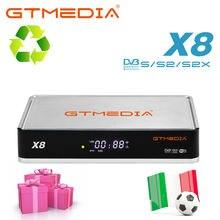 Gtmedia x8 dvb s/s2/s2x vcm/acm/мульти поток/t2 mi цифра спутниковый