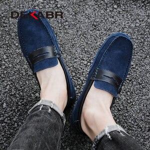 Image 5 - Dekabr Plus Size 47 Lente Zomer Casual Schoenen Mannen Ademende Mannelijke Slip Op Schoeisel Loafers Designer Mannen Schoenen Sapatos Homens