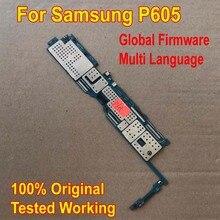 Globale Del Firmware Originale di Lavoro della Scheda Madre per Samsung Galaxy Note 10.1 Edition P605 Mainboard Logic Circuiti Tassa di Carta di Cavo Della Flessione