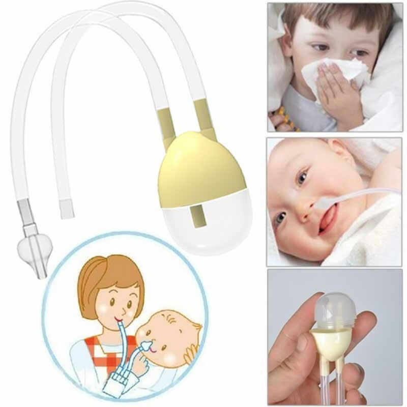 Fashion Baby Safe Nose Cleaner Vacuum Suction Nasal Mucus Runny Aspirator