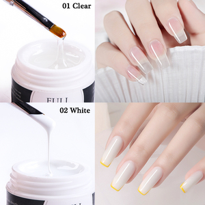 15 мл гель для наращивания ногтей прозрачный белый розовый Полиакриловый УФ Волоконный гель быстрое удлинение строитель ремонт маникюрные гели для нейл арта BE1623 1|Гель для ногтей|   | АлиЭкспресс