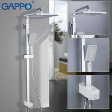 GAPPO grifos de ducha, panel de ducha, cascada, mezclador, grifo de baño, grifo de agua, lluvia, G2408 8 cromado