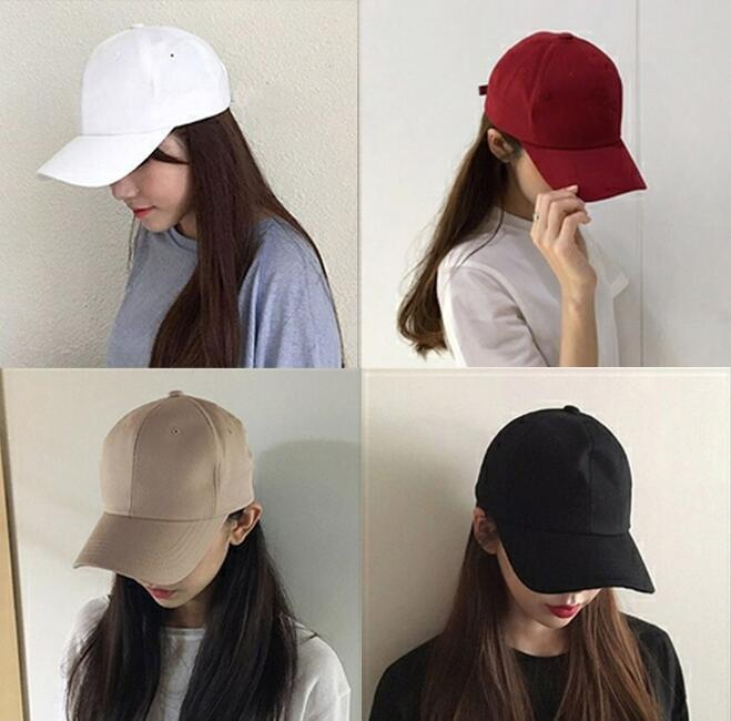 New Fashion Soild Men Women Baseball Cap Adhesion Hat HipHop Adjustable Cool Sunhat Casquette Gorras Present Party Gift