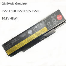 ONEVAN Bateria Do Laptop Genuine Para Lenovo ThinkPad E555 E550 E550C E560 E565C 45N1759 45N1758 45N1760 45N1761 45N1762 45N17 48WH