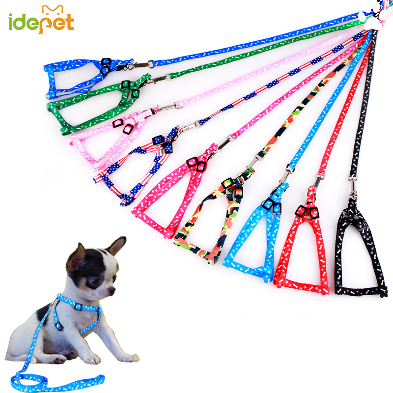 Pet Dog Harness Adjustable Pet Leashes Puppy Collar for Small Dogs Cat Harness Medium Dog Accessories Outdoor Walk Arnes Perro