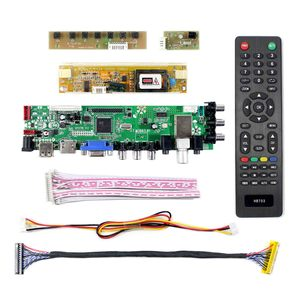 Image 2 - HD MI VGA AV USB ATV DTV LCD Controller Board  work for 18.4inch 1920x1080 2 CCFL backlight 30PIN LVDS panel LTN184HT03 N184H4