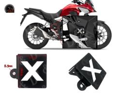 For Honda CB500X CB500F CBR500R CB 500X 500F CBR 500R 2019 2020 Motorcycle Rear Brake Pump Fluid Reservoir Guard Protector cover