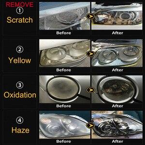 Image 2 - VISBELLA طقم إسفنجة تلميع للسيارة ، وسادة إسفنجية ذاتية اللصق لإصلاح المصابيح الأمامية للجسم ، 3 بوصات