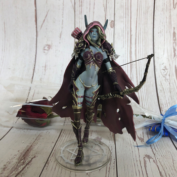 14cm  Sylvanas  Action Figure Toys Windrunner Darkness Ranger Lady PVC  Figure For Collection Annie Brinquedos Model цена 2017