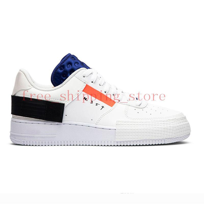 AQLOAC Hot Shoes 1 Type Shadow Under Construction Triple Black Summit White Mystic Air Navy Mens Trainer N345 Sports Sneakers