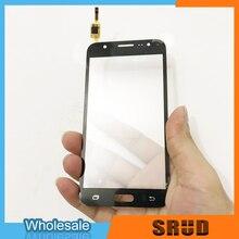 LCD Pannello Dello Schermo di Tocco Per Samsung Galaxy J5 Prime On5 G5500 G550 G550FY G5700 Doppio Foro Anteriore di Tocco Dello Schermo Esterno obiettivo di vetro
