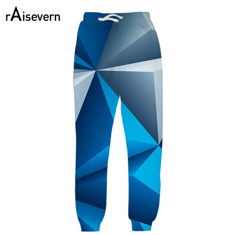 Raisevern 3D All Over Printed Full Length Joggers Pants Hipster Streetwear Sweatpants Women Men Unisex Clothing Clearance Sale