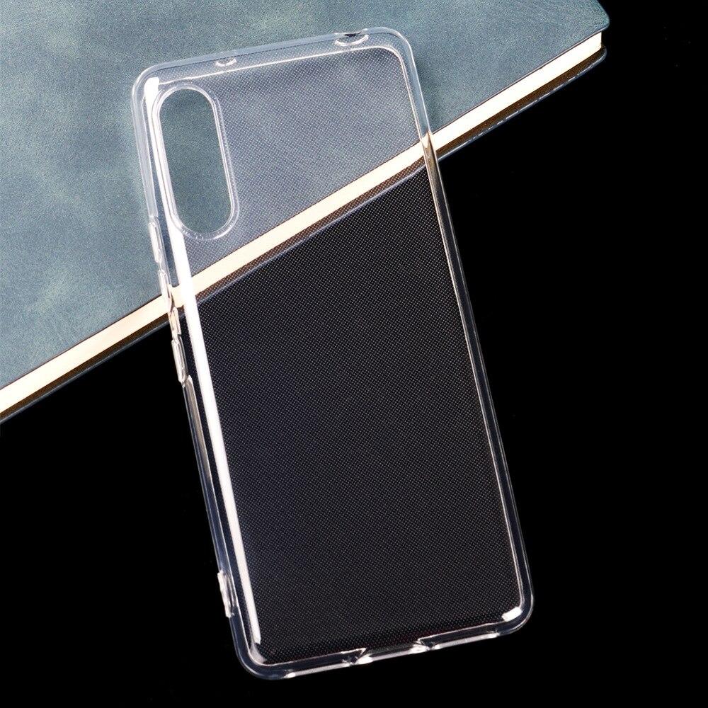 Для Rakuten Hand / BIG / Mini тонкий кристально прозрачный мягкий ТПУ чехол для задней панели защитный чехол для камеры