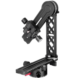 RISE-720Pro-2 360 Degree High Coverage Panoramic Tripod Head With Extended Qr Plate And Nodal Slide Rail For Digital Camera