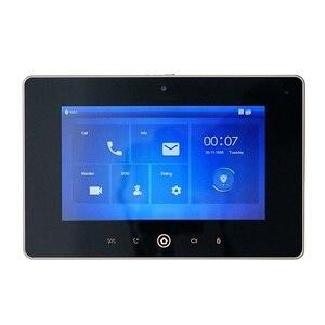 Image 2 - DH logo Multi Language VTH5221D 7inch Indoor Monitor,Build in camera, SIP firmware, IP doorbell, Video Intercom,wired doorbell