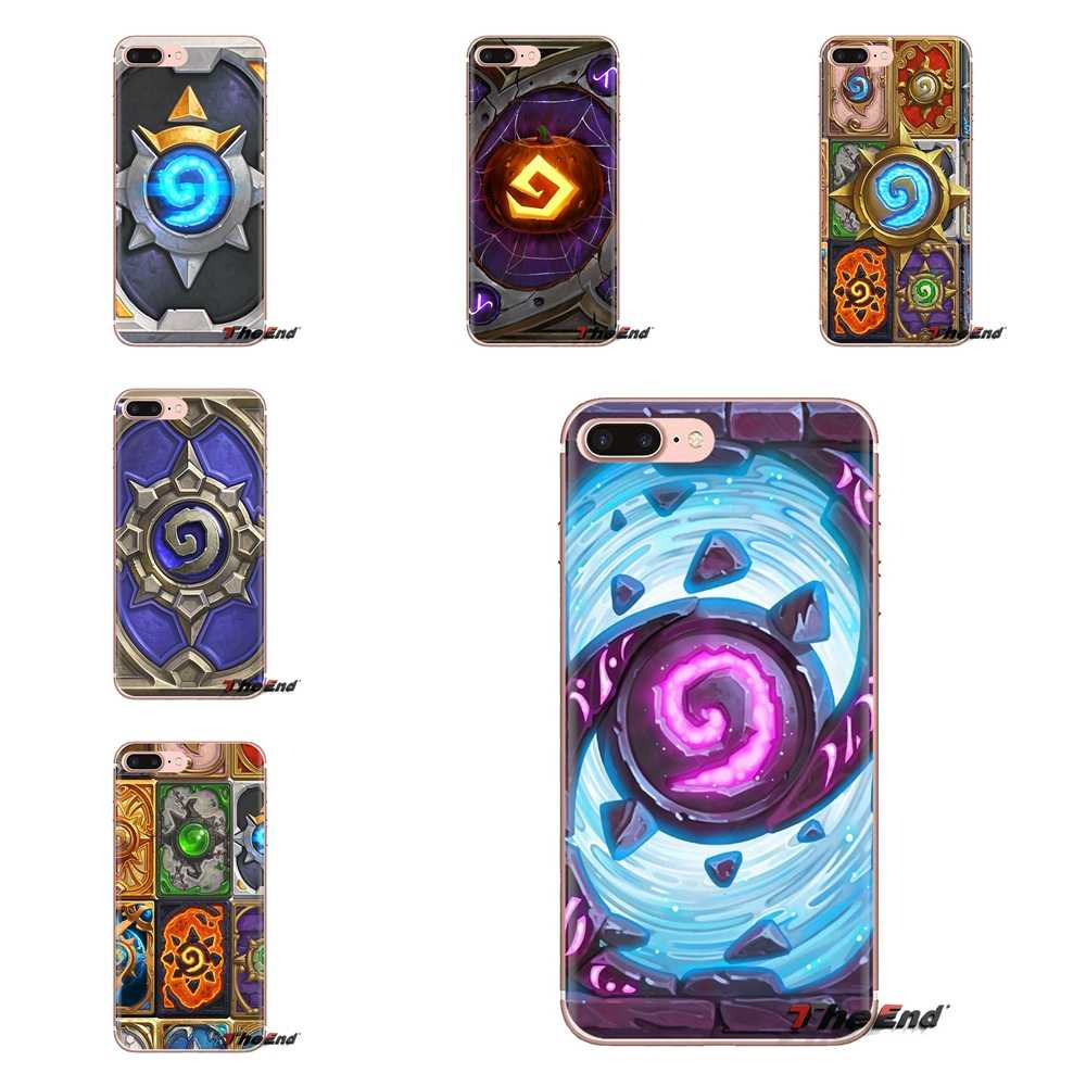 For Xiaomi Redmi 4A S2 Note 3 3S 4 4X 5 Plus 6 7 6A Pro Pocophone F1 game Hearthstone card Transparent Soft Shell Covers