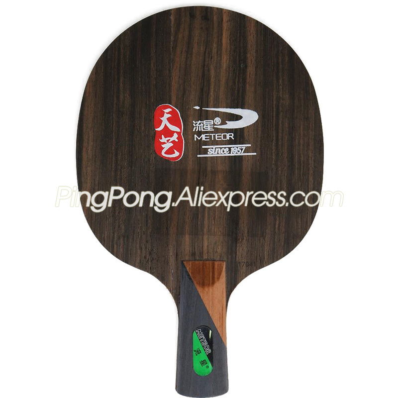 METEOR Ebony 5 TE17041 Meteor Table Tennis Blade Racket Ping Pong Bat / Paddle