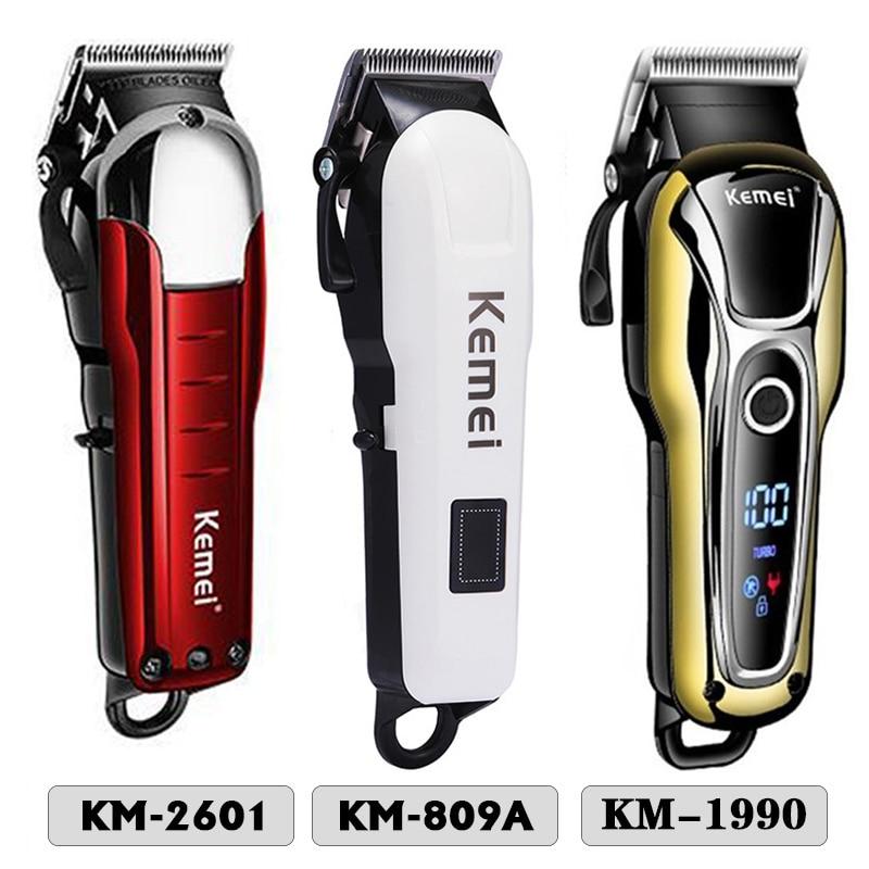 KEMEI Hair Clipper Professional Hair Trimmer In Hair Clipper For Men Electric Trimmer LCD Display Machine Barber Hair Cutter 5