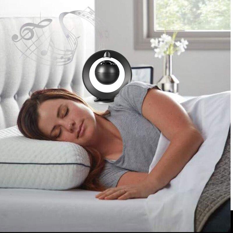Levitazione Magnetica Luce di Notte Speaker Bluetooth Aperto Intervista di Design a 360 Gradi Stereo Surround Galleggiante Altoparlante Esperienza - 2