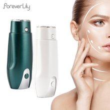 Mini hifu ultra-sônica rf máquina de levantamento de cara 3 cores terapia de luz anti-envelhecimento pele aperto rugas remoção beleza casa spa