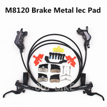 Shimano DEORE XT M8000 M8020 M8100 M8120 בלם 4 בוכנה HydraulicBike דיסק בלם ICE TECH רפידות קדמי אחורי DH