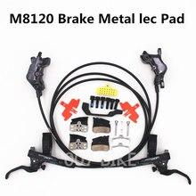Shimano DEORE XT M8000 M8020 M8100 M8120 тормоза 4 поршня гидравлический велосипед дисковые тормозные ICE TECH колодки передние и задние DH