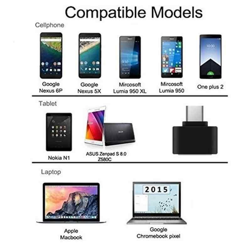 Loại C OTG USB 3.1 Đến USB2.0 Adapter Kết Nối Tốc Độ Cao Được Chứng Nhận Phụ Kiện Điện Thoại Samsung Huawei Điện Thoại TXTB1