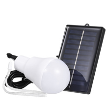 Light-Panel Tent Solar-Lamp Emergency-Bulb Outdoor Garden Portable Powered LED Camping