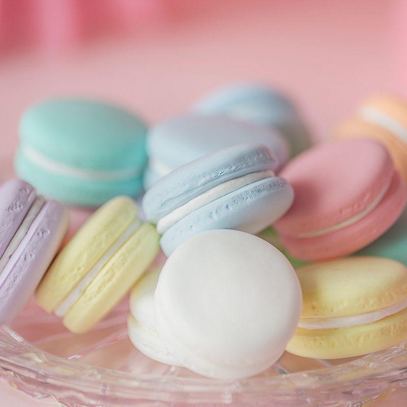 Medium Simulation Macaron Model Shooting Props Wedding Dessert Table Cake Decoration Decoration Early Learning Cake Mould