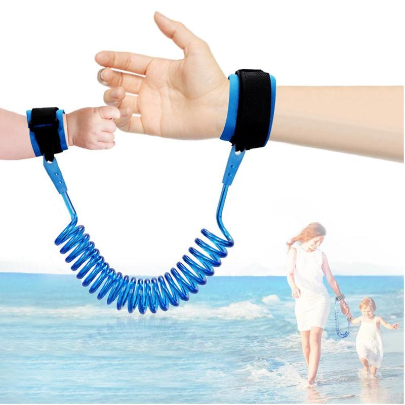 New Arrival Child Safety Harness Adjustable Leash Anti Lost Outdoor Walking Hand Belt Anti-lost Baby Walker Wristband 1.5 M