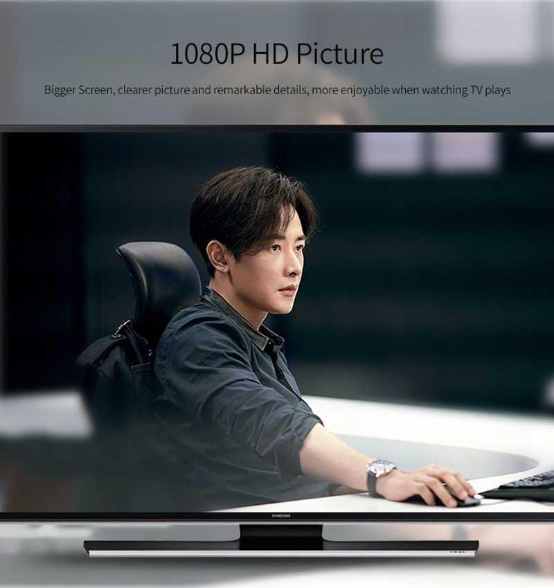 2M Tipe C Kabel HDMI Ponsel Terhubung Ke TV Adaptor HDTV Layar Share Link untuk Macbook Dell Asus Samsung s8 S9 + S10 + Huawei P20 P30