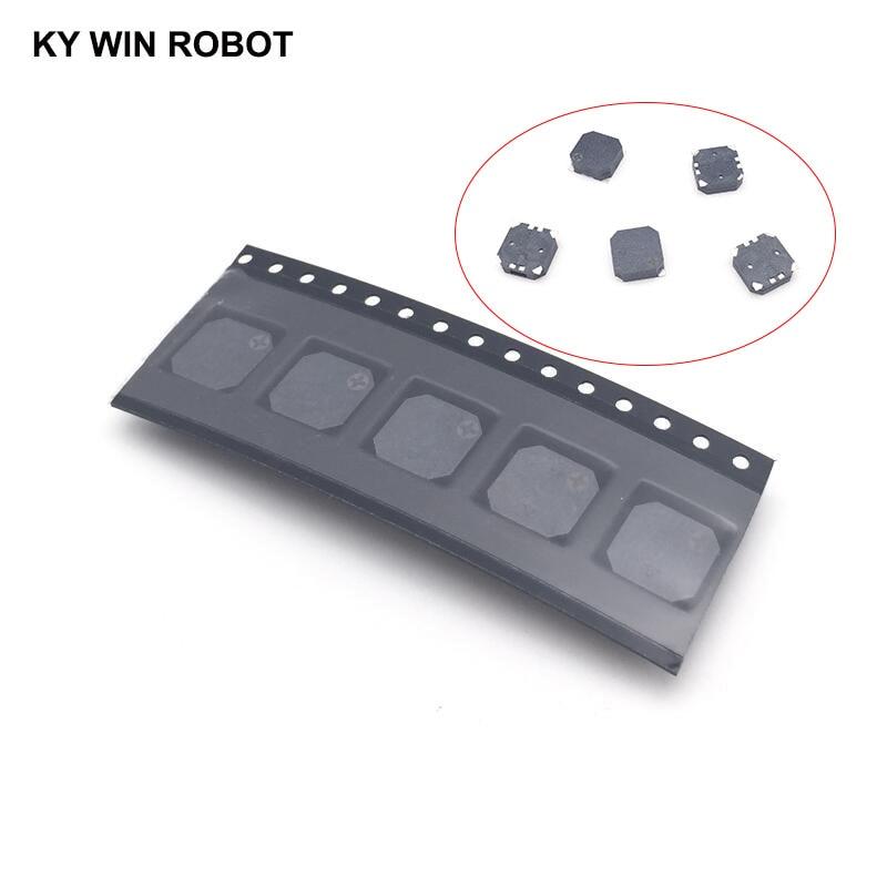 5pcs/lot SMD 8530 8.5x8.5x3MM Passive Buzzer Magnetic 3V 5V Anti-lost Buzzer 8.5*8.5*3MM Loudspeaker For Arduino Electro Kit