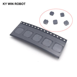 Image 1 - 5pcs/lot SMD 8530 8.5x8.5x3MM Passive Buzzer Magnetic 3V 5V Anti lost Buzzer 8.5*8.5*3MM Loudspeaker For Arduino Electro Kit