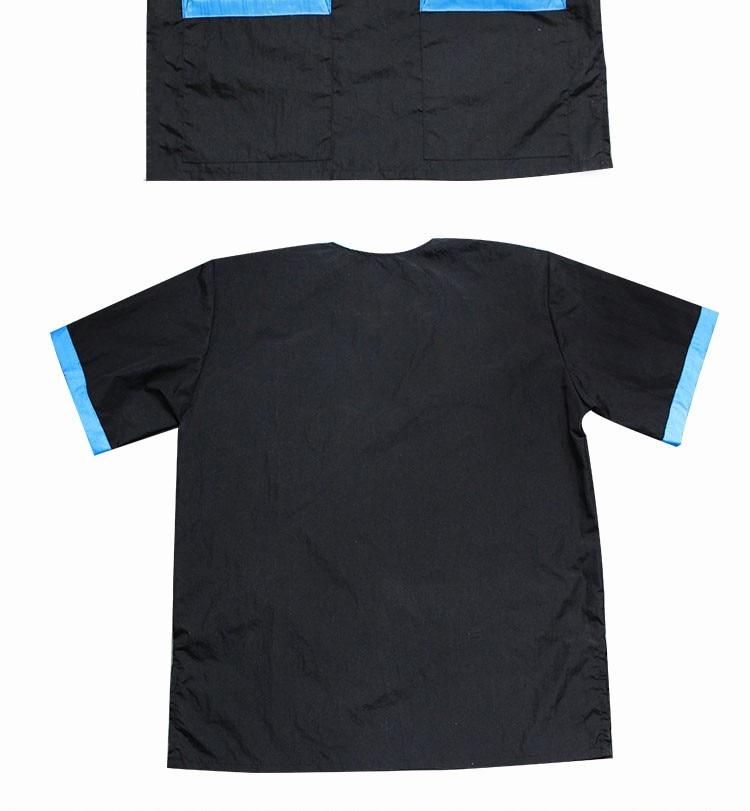 estimação corte não pegajoso roupas trabalho respirável