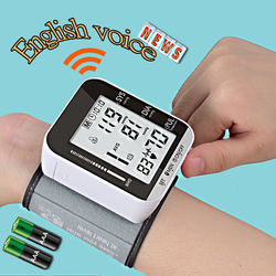 Health Care Wrist Blood Pressure Monitor Electronic Heart Rate Tonometer Pulse Rate Heart Beat Rate Device Sphygmomanometer
