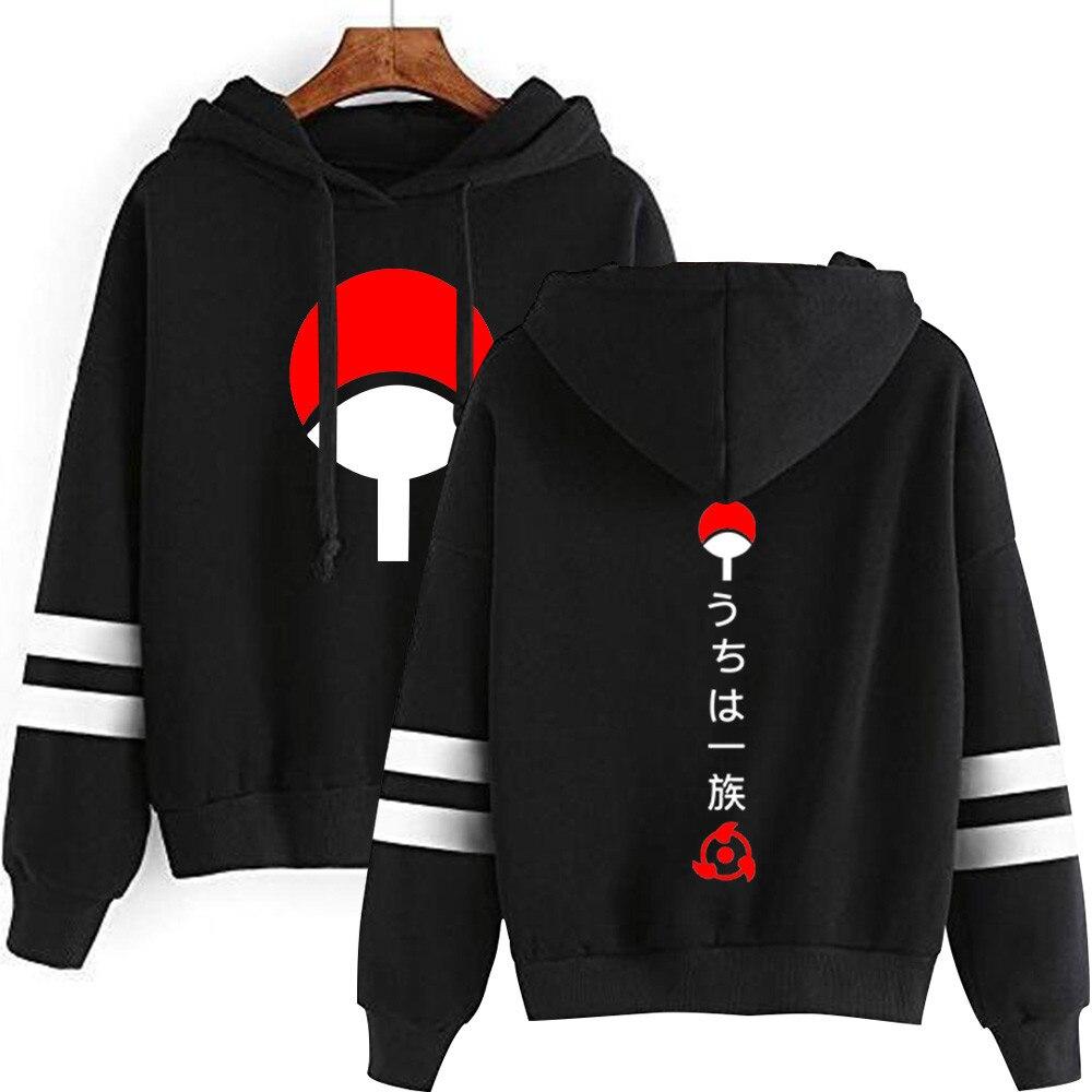 Naruto hooded sweatshirt lovers autumn long sleeves Harajuku Uchiha Sasuke clothes second yuan jacket 2020 New fashion Hoodies