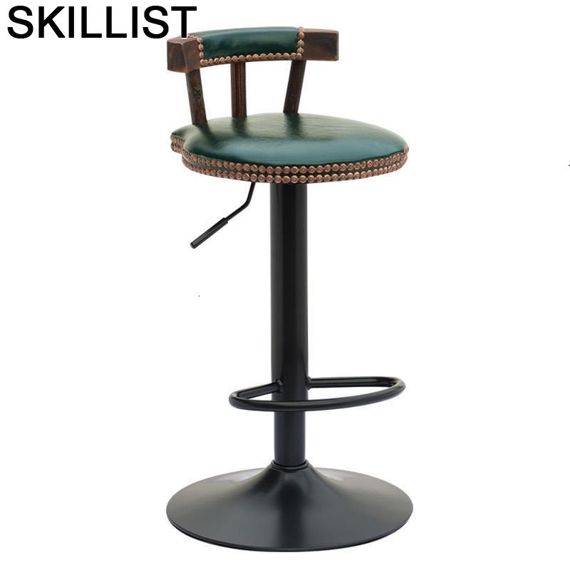 Banqueta Todos Tipos Table Taburete La Silla Para Barra Sandalyesi Leather Tabouret De Moderne Stool Modern Cadeira Bar Chair