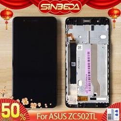 """Oryginalny 5.2 """"dla ASUS Zenfone 3 Max ZC520TL X008D wyświetlacz LCD montaż digitizera ekranu dotykowego dla ASUS ZC520TL wymiana LCD w Ekrany LCD do tel. komórkowych od Telefony komórkowe i telekomunikacja na"""