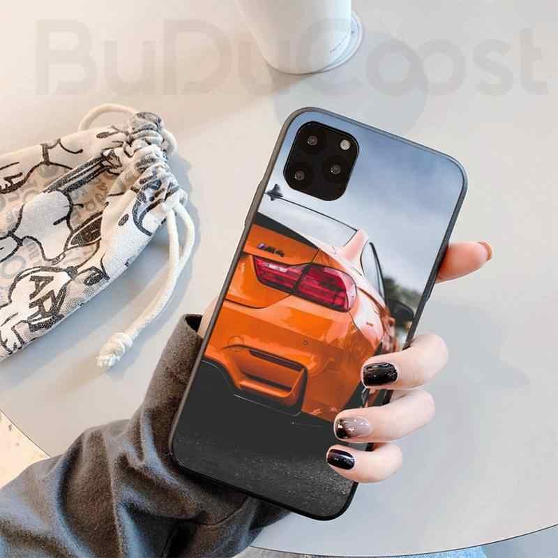 Sport Car Design Bmw nero Cassa Del Telefono Scafo per iphone 11 Pro11 Pro Max X XS XR XS MAX 8 più di 7 6splus 5s se 7 più il caso di