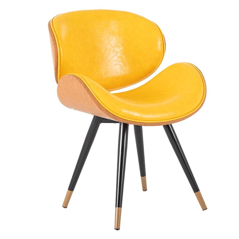Nordic Dining Chair Modern Minimalist Home Leisure Chair Coffee Shop Chair Wrought Iron Net Red Chair Coffee Shop Chair