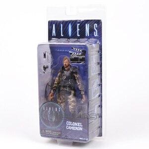 Image 4 - NECA エイリアン大佐キャメロン 7 アクションフィギュアコレクション模型玩具 Figurals