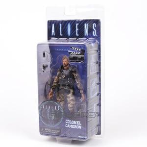 Image 4 - NECA ALIENS Kolonel Cameron 7 Action Figure Collection Model Toy Figurals