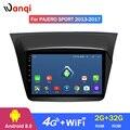 4G Lte All Netcom 9 дюймов Android 8 0 Автомобильная dvd-навигационная система для Mitsubishi Pajero Montero sport 2013-2017 Мультимедиа Радио