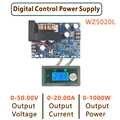 Понижающий преобразователь постоянного тока WZ5020L WZ5012L, понижающий модуль питания CC CV, 50 В, 20 А, 1000 Вт, Регулируемый источник питания с регулир...