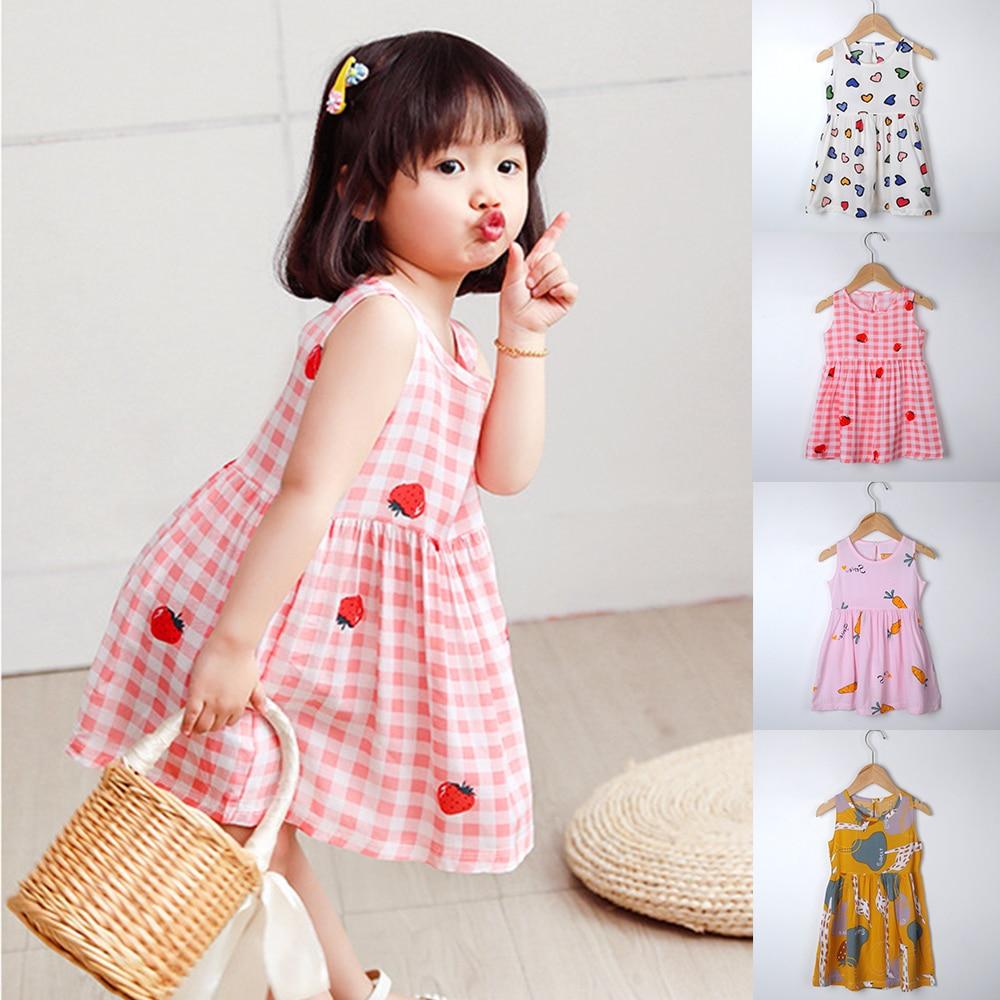 New Arrival Summer Floral Dress Toddler Baby Girl Clothes Kids Casual Dress Cute Sundress Vestido Floral Vestidos De Verano