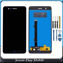 цена на LCD Display for ZTE Blade A510 LCD 100%Tested LCD Display For ZTE Blade A510 LCD Display Screen Replacement Assembly