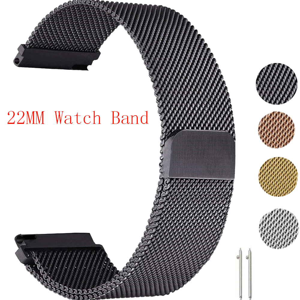 Milanese Loop Strap For HUAWEI WATCH GT GT2 2 46MM 42MM Smart Bracelet Strap For HONOR Magic GT Active 2 Watchbands Bands Correa